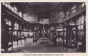 Lindbergh Trophies, Jefferson Memorial, St. Louis, Missouri, United States, 4...