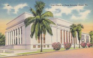 First Church Of Christ Scientist Miami Florida 1947