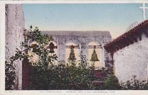 The Campanario, Mission San Juan Capistrono, California,  1776