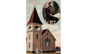 Hope Chapel  Salisbury Beach, Massachusetts Postcard
