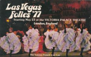 Nevada Las Vegas Las Vegas Follies '77 Tropicana Hotel & Country Club