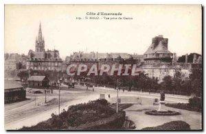 Old Postcard Saint Malo Emerald Coast View from Casino