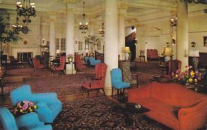 Interior View of Empress Hotel, Victoria, British Columbia, Canada, 40-60s