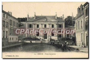 Postcard Dreux Old Courthouse