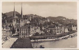Switzerland Luzern Panorama Photo