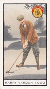 Symonds Vintage Trade Card Sporting Trivia 1998 Harry Vardon 1900