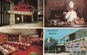Mexico Acapulco George Diamond Steak Restaurant sk1439a