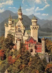 Koenigschloss Neuschwanstein Royal Castle Allgaeuer Bergen