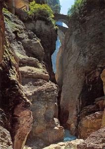 Viamalaschlucht bei Thusis Graubuenden Gorges de la Viamala Grisons