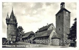 Lindau Germany, Deutschland Postcard Diebsturm und Petersfirche Lindau Diebst...