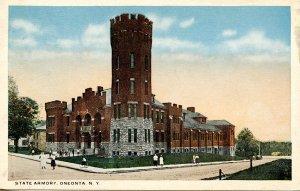 NY - Oneonta. State Armory