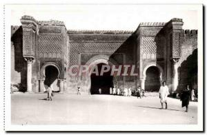 Africa - Africa - Morocco - Morocco - Meknes - Bab Mansour - Old Postcard