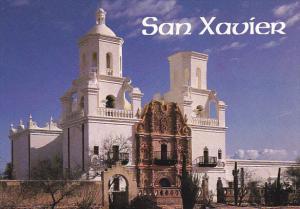 San Xavier Del Bac Mission Tucson Arizona