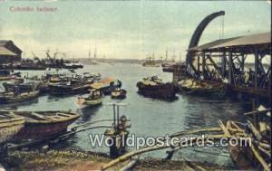 Ceylon, Ceylan, Sri Lanka Colombo Harbour