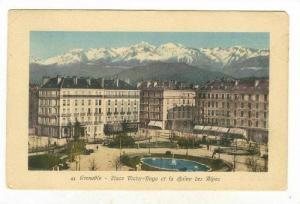 Place Victor Hugo Et La Chaine Des Alpes, Grenoble (Isere), France, 1900-1910s