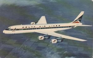 Delta Air LInes Douglas DC-8 Fanjet 1968