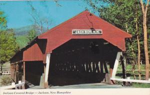 New Hampshire Jackson Covered Bridge
