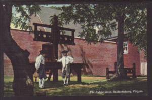 The Public Gaol Williamsburg VA Postcard 4298