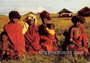 Bantu Life, People of the Red Blanket Unused