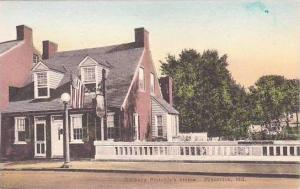Maryland Frederick Barbara Fritchies House Handcolored Albertype