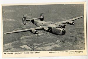 Valentine's Aircraft Recognition Card