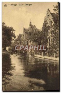 Postcard Old Bruges Dijver Bruges