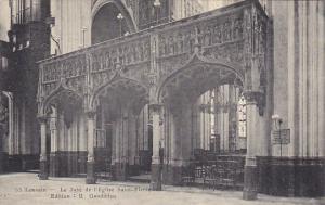 Belgium Louvain Le Jube de l'Eglise Saint Pierre