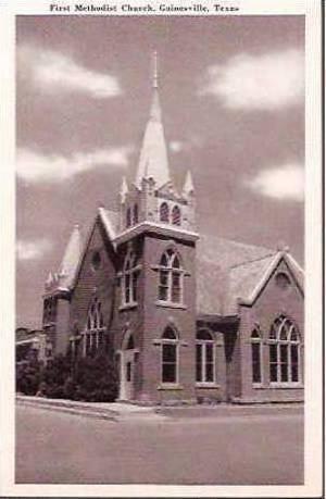 TX Gainesville First Methodist Church