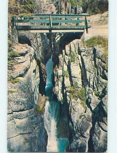 Pre-1980 TOWN VIEW SCENE Jasper Alberta AB p9237
