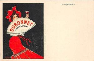 Dubonnet Vin Tonique an Quinquina Advertising Unused