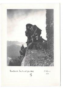 RPPC Austria Innsbruck War Memorial Denkmal fur 1809 A Defner 4X6 Postcard