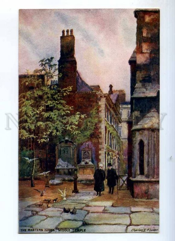 235787 UK Charles FLOWER Masters house middle temple TUCK PC