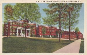 Salem College, Founded In 1771, Winston-Salem, North Carolina, 1930-1940s
