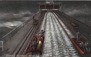 Shooting the Chutes Coney Island, NY, USA Amusement Park 1909