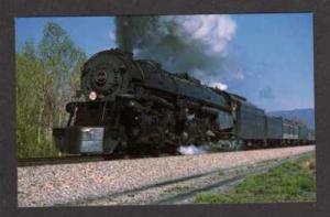 VA Norfolk Western RR Train ROANOKE LYNCHBURG VIRGINIA