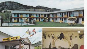 3-views,  African Safari Motel,  Kelowna,  B.C., Canada, 40-60s
