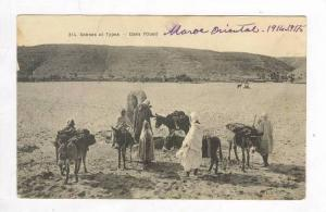 Arab family with camels & donkeys, Sans l'Oued, 00-10s