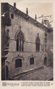 Barcelona Casa De La Cludat Hotel De Ville Postcard