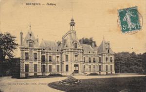 MONTIERES, Poix-de-Picardie, Somme, France; Chateau, PU-1908