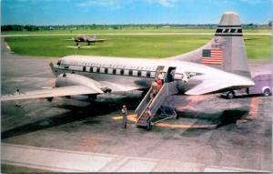 Pan American Airways Convair 240 Pan Am Unused Vintage Postcard D35