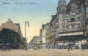Pragerstrabe vom Hauptbahnhof Dresden Germany Unused
