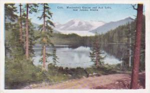 Alaska Mendenhall Glacier and Auk Lake Near Juneau