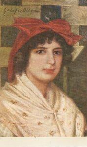 Gallofré Oller. A Catalan Lady. Maruja Nice vintage Spanish postcard