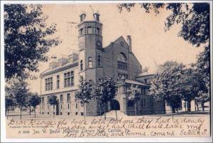 Jas. W. Bosler Memorial Library Hall, Carlisle PA