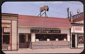 31420) New York CLAYTON Harry's Snack Bar 1000 Islands - Chrome