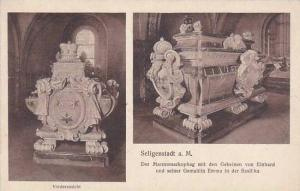 Germany Seligenstadt Die Einhardsbasilika Der Marmorsarkophag