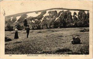 CPA GÉRARDMER Le HOHNECK couvert de Neige (402460)