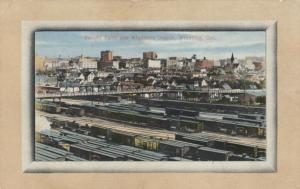 WINNIPEG , Manitoba , 1900-10s ; Railroad Freight Yards