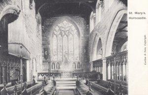 HORNCASTLE, Lincolnshire , England , 1900-10s , Interior St Marys