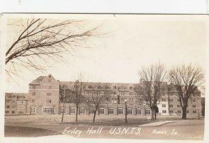 RP: AMES , Iowa , 1943 ; Friley Hall , U.S.N.T.S.
